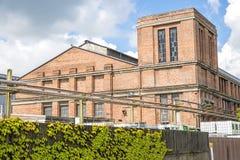 19世纪的老精炼厂 免版税库存图片