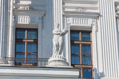 18世纪的老豪宅- Pashkov议院 目前,俄罗斯国家图书馆在莫斯科 免版税库存照片