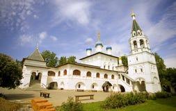 16世纪的通告Pavlovskaya Slobodathe建筑学的教会 库存图片