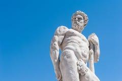 16世纪的雕象 赫拉克勒斯雕象 库存照片