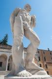 16世纪的雕象 赫拉克勒斯雕象 免版税库存照片