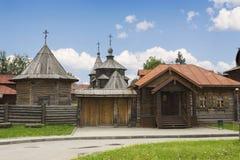 18世纪的建筑学。俄罗斯 免版税库存图片