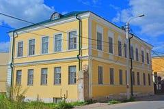 18世纪的建筑学纪念碑的博物馆在Torzhok市,俄罗斯的中心 免版税库存图片