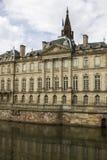 18世纪的Rohan宫殿在史特拉斯堡,法国 免版税库存照片