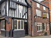 12世纪皇家橡木,切斯特菲尔德,德贝郡,英国 库存照片