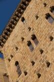 15世纪石塔在Zarauz告诉了Torre Luzea 免版税库存照片