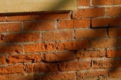 19世纪砖墙 免版税图库摄影