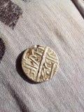 14世纪硬币 免版税库存图片