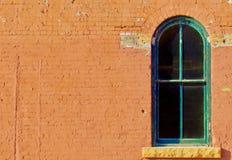 19世纪窗口权利 图库摄影