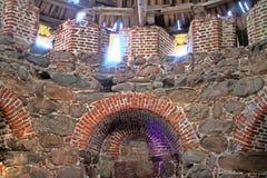 17世纪老堡垒塔  北俄国样式 图库摄影