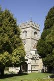 14世纪老教会英国 图库摄影