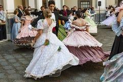 19世纪舞蹈 图库摄影