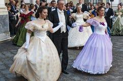 19世纪舞蹈 库存图片