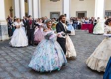 19世纪舞蹈 库存照片