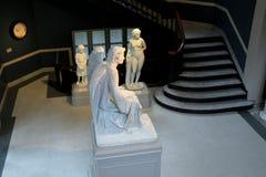 19世纪艺术家, Erastus Dow帕尔默,历史和艺术,阿尔巴尼,纽约学院印象深刻的雕塑, 2016年 免版税库存照片