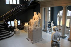 19世纪艺术家, Erastus Dow帕尔默,历史和艺术,阿尔巴尼,纽约学院惊人的雕塑, 2016年 库存照片