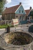 19世纪荷兰村庄-荷兰 免版税库存照片