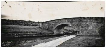 18世纪葡萄酒作用石头桥梁 图库摄影