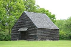 19世纪谷仓在纽约州 库存照片