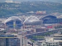 世纪连接字段体育场在西雅图 免版税库存图片