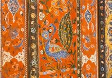 17世纪阿勒颇室鸟,叙利亚寓所绘画  免版税库存图片