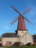 18世纪风车在苏克塞斯 图库摄影
