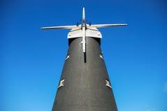 19世纪风车 库存图片