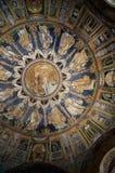 10世纪马赛克在拉韦纳意大利 图库摄影