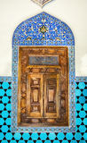 14世纪,历史伊斯兰教的装饰,窗口 库存图片