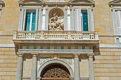 15世纪,帕劳de la Generalitat,主持办公室 免版税库存图片