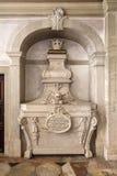 18世纪巴洛克式的坟茔死亡 库存照片
