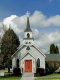 19世纪90年代历史的教会 免版税库存照片