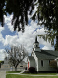 19世纪90年代历史的教会 库存图片