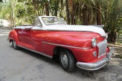20世纪50年代古巴人汽车 库存图片