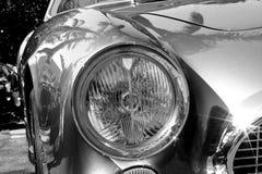 20世纪50年代法拉利250 tdf前面细节 免版税库存照片