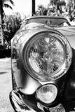 20世纪50年代法拉利250 tdf前面细节 库存照片