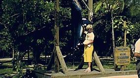 20世纪70年代迈阿密Seaquarium旅游胜地 影视素材