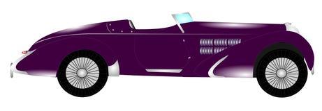 20世纪30年代意大利跑车 免版税库存图片