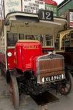 从20世纪20年代的伦敦公共汽车 免版税库存图片