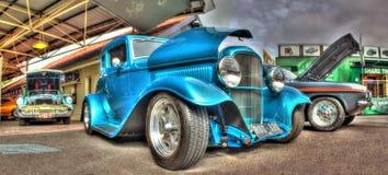 20世纪30年代美国人福特旧车改装的高速马力汽车 图库摄影