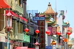 19世纪50年代美国作为是唐人街chinatowns文化被设立的特色影片弗朗西斯科也有最大的文件音乐北部最旧的一摄影普遍的s圣这样 库存照片