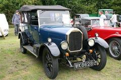 20世纪20年代Humber软的顶面游览车 免版税库存照片