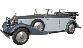 20世纪30年代Retrocar没有帆布上面的 免版税库存照片