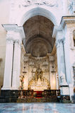 13世纪Cefalu大教堂在Cefalu,西西里岛 免版税库存图片
