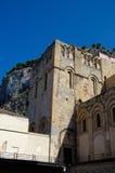13世纪Cefalu大教堂在Cefalu,西西里岛 库存照片