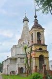 16世纪Pyotr Mitropolit的教会在Pereslavl-Zalessky市 库存图片