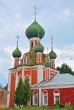 18世纪Vladimirsky大教堂在Pereslavl-Zalessky市 图库摄影
