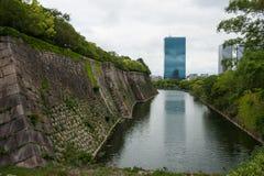 世袭的社会等级垄沟大阪s墙壁 库存图片