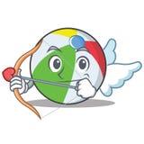 丘比特球字符动画片样式 库存照片