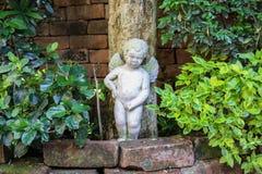 丘比特雕象 图库摄影